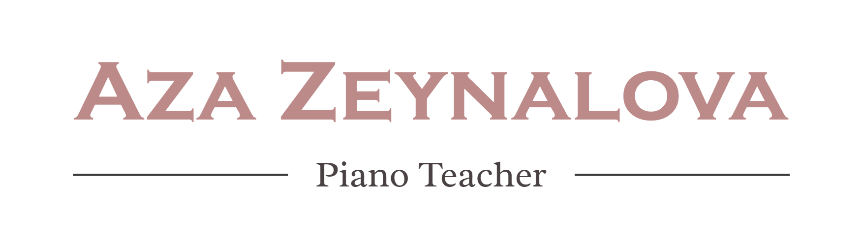 Aza Zeynalova - Piano Teacher